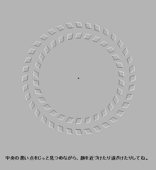 目の錯覚画像-172