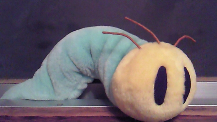 デカイ青虫が出たwwww-018