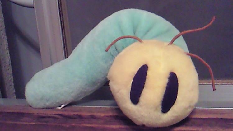デカイ青虫が出たwwww-007