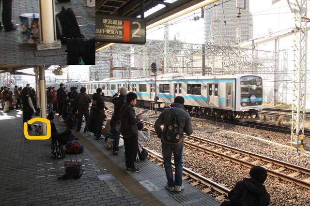京浜東北線で鉄ヲタパンデミック-102