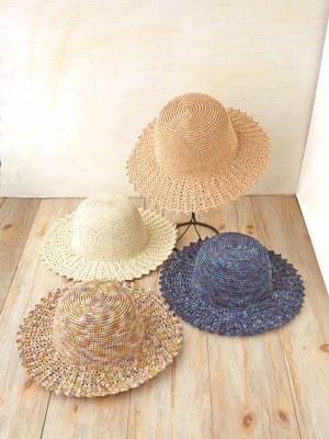 編んで作る手作りの帽子!インターネットで手に入る編み図をご紹介