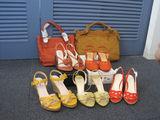 パーソナルカラーがスプリングの方へのバッグや靴はこれ