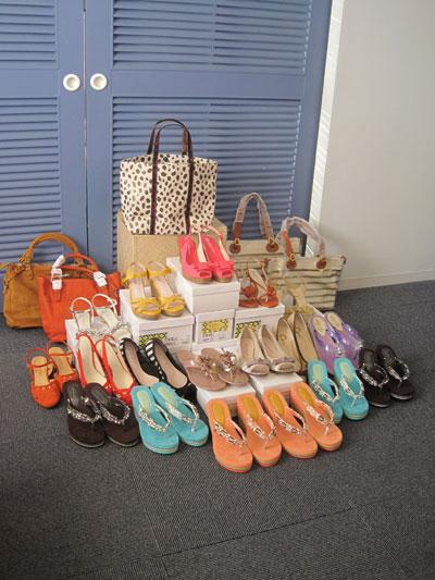 沖縄へ届けてもらったJavariで注文した靴&バッグたち!