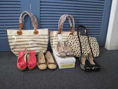 javari.jpで頼んだ靴とバッグたち。かわいい♪
