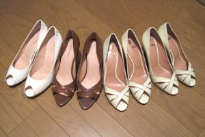 Javari.jp(ジャバリ)で頼んだ靴を並べてみました!