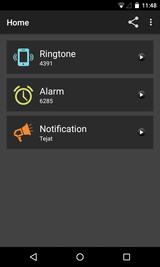 Tone Selector (Ringtone Alarm) (15)