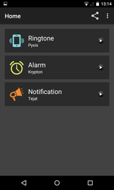 Tone Selector (Ringtone Alarm) (2)