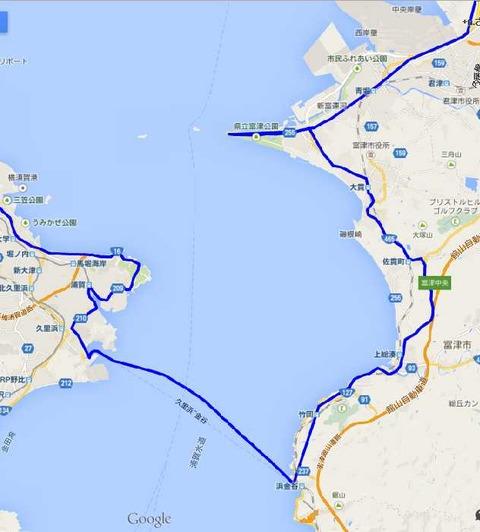 5富津から久里浜