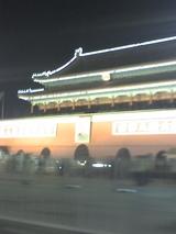 天安門広場の夜景