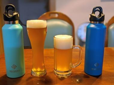 グラウラーを使うと樽生ビールをテイクアウトできる
