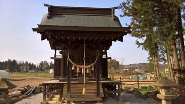 渕端諏訪大明神社(旗鉾神社)