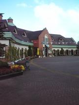 仙南シンケンファクトリーはドイツ風の建物である