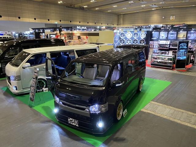 大阪オートメッセ2020出展ブース