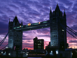 壁紙 Tower Bridge 1024x768