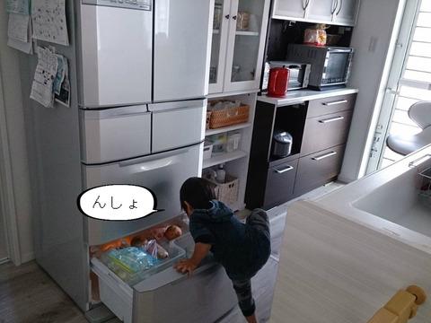 冷蔵庫を封鎖するいい方法って、ないやろか・・・。