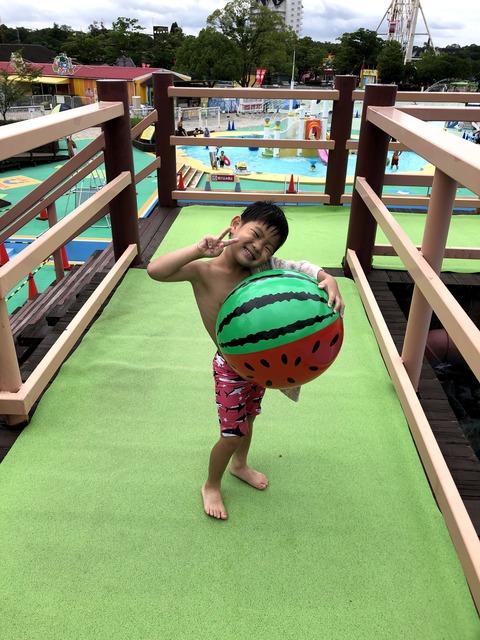 東条湖おもちゃ王国でプールと遊園地を満喫! ②