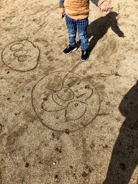 上手に描けるようになった、アンパンマン!