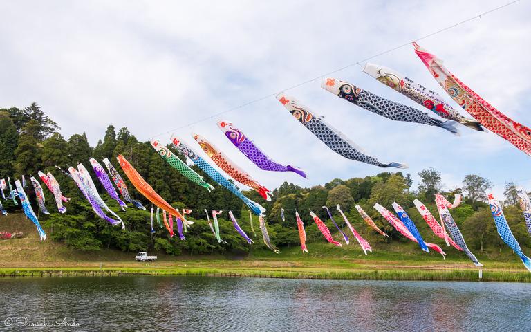 千葉県香取市|いきいき山田・鯉のぼりまつり-4