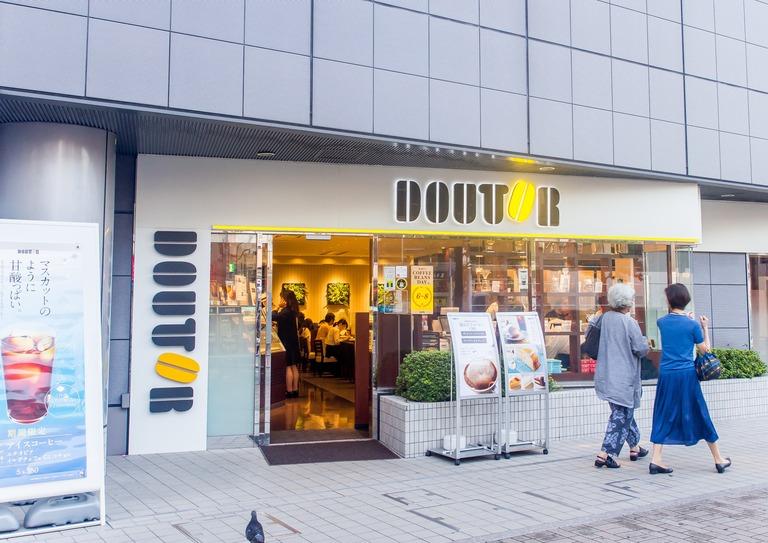 ドトールコーヒーショップ船橋駅南口店‐1