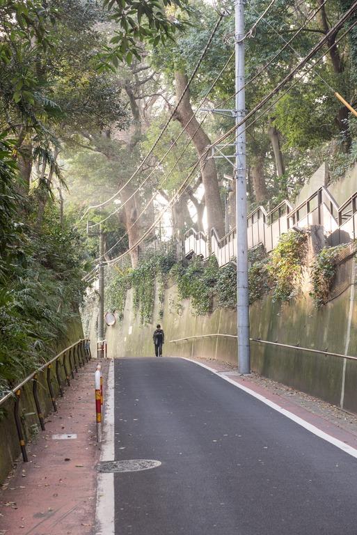 弘法寺へ向かう道