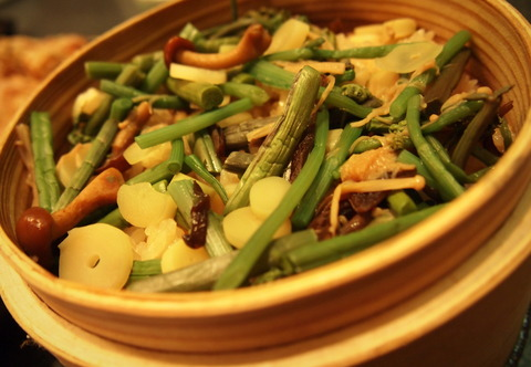 山菜せいろご飯