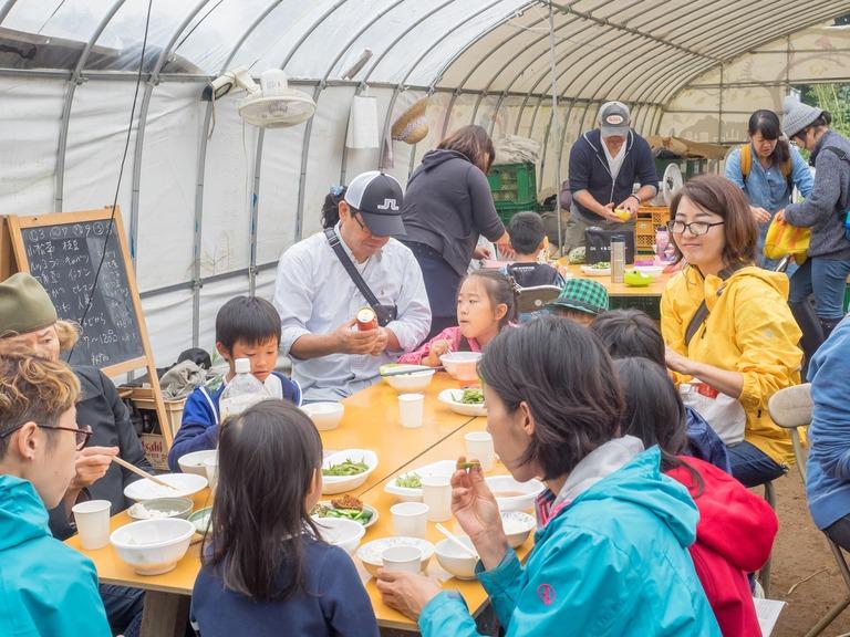 山田農場の一年・十月(枝豆の会)19