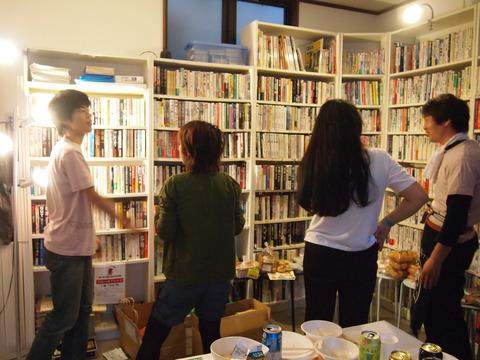 図書館マルシェ