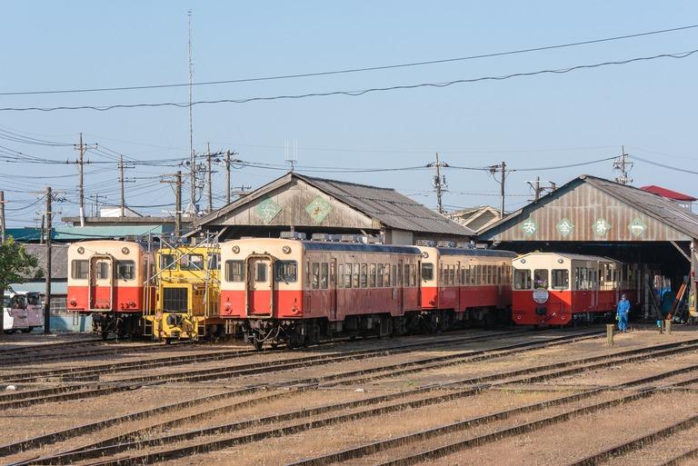小湊鉄道2016年5月5日-1(五井駅)