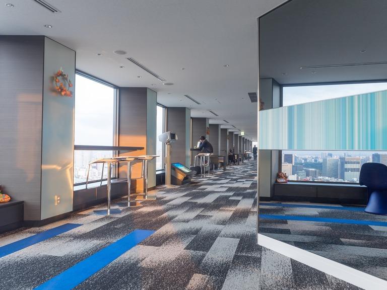 東京貿易センタービル展望台