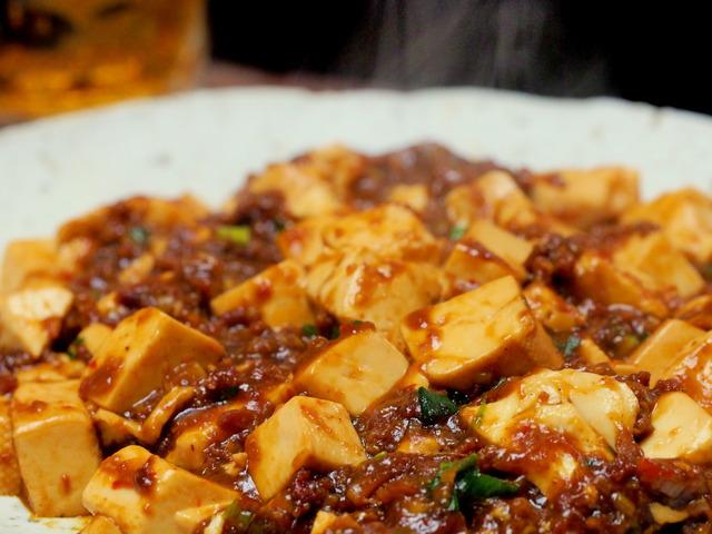 激辛麻婆豆腐(行正り香)