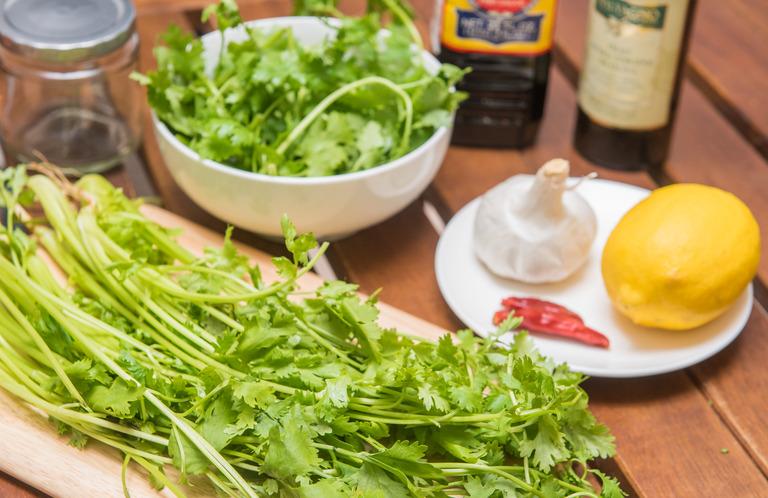 パクチーソース・レシピ-1
