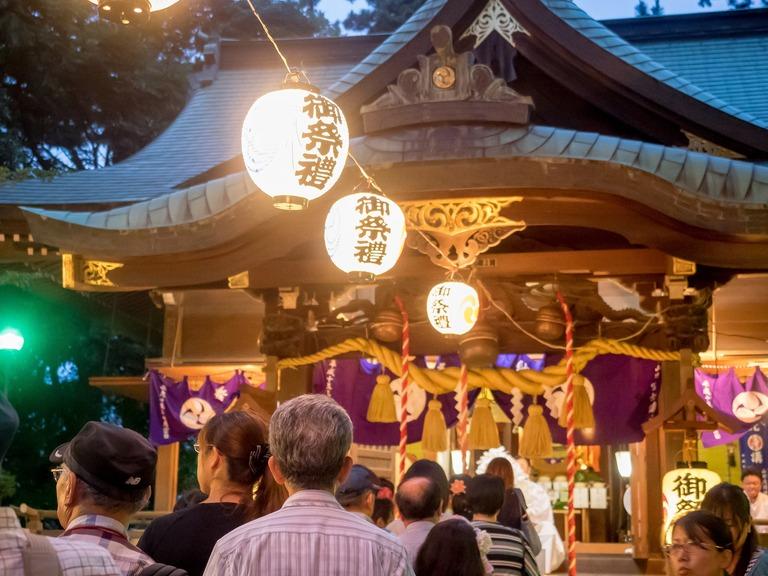 山野浅間神社の祭礼20150630-6