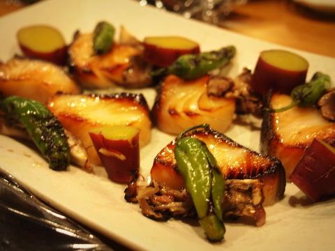 銀鱈の味噌ゆず庵焼き