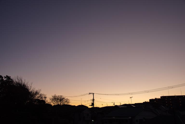 船橋市_冬の朝焼け_9