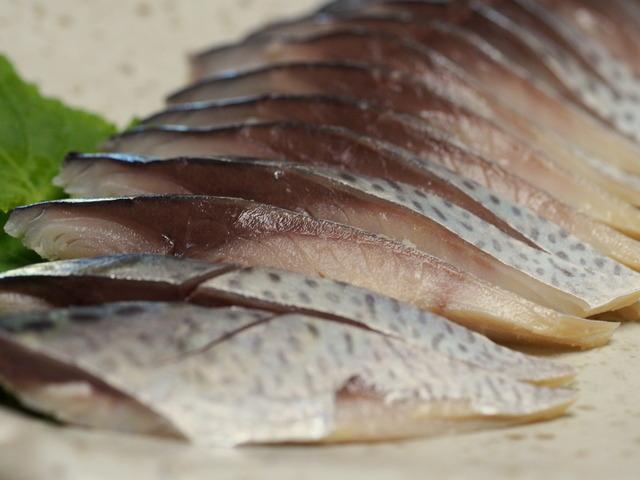 魚鈴の〆鯖②