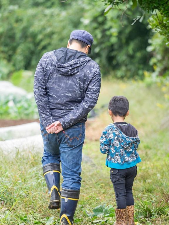 山田農場の一年・十月(枝豆の会)18