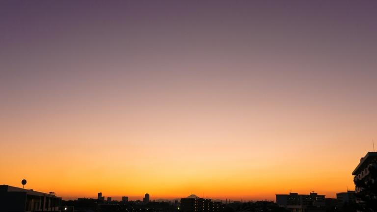 夕焼け20151105