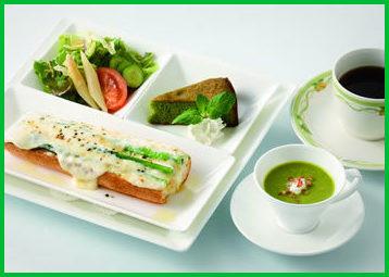 上野精養軒の「小松菜おいしくてこまっちゃうなセット」