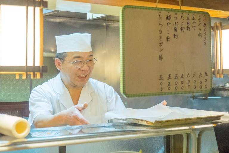 大将の山田さん