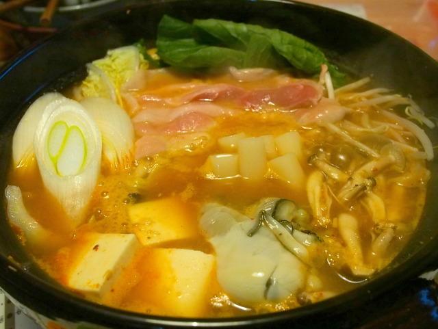 キムチ鍋(完成)