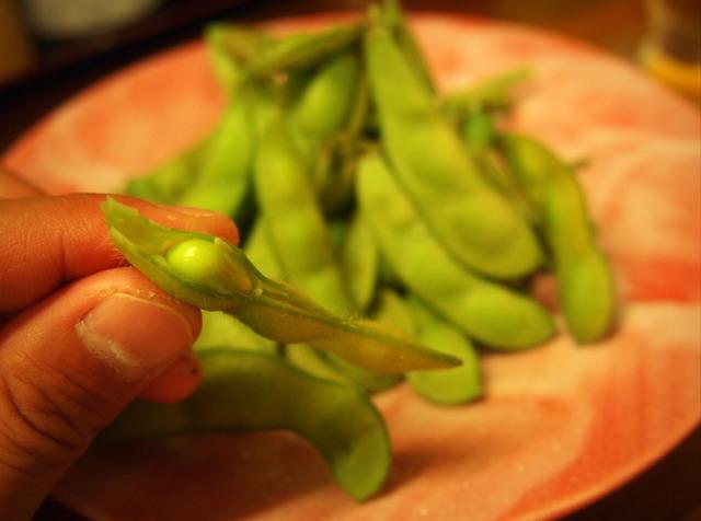 楽膳の枝豆②