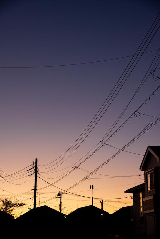 船橋市_冬の朝焼け_8