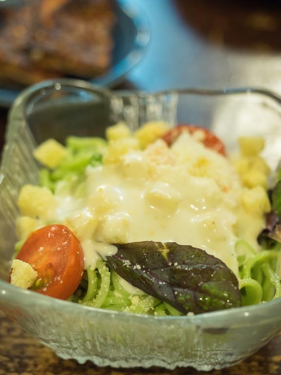 小松菜パスタサラダ