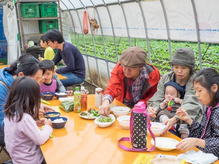 山田農場の一年・十月(枝豆の会)20