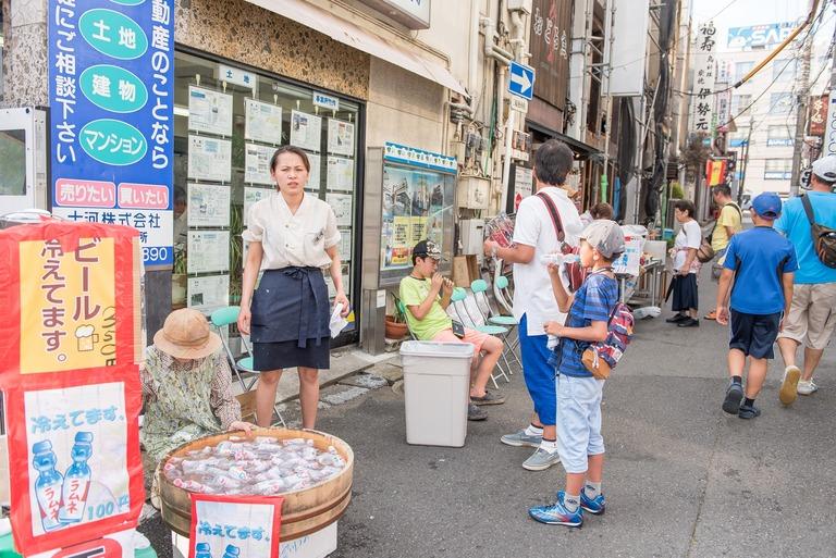 西船橋百円商店街2016年7月-5