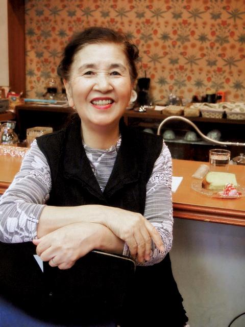 瀬川千里さん(2012)