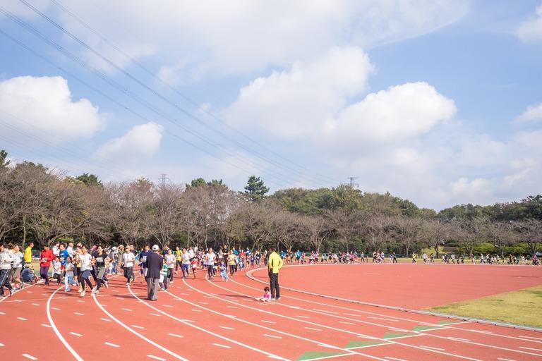船橋市民マラソン2015-1(親子レース)