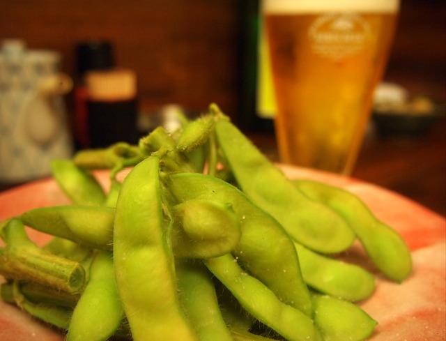 楽膳の枝豆①