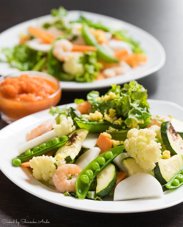 山田農場の野菜サラダ_1