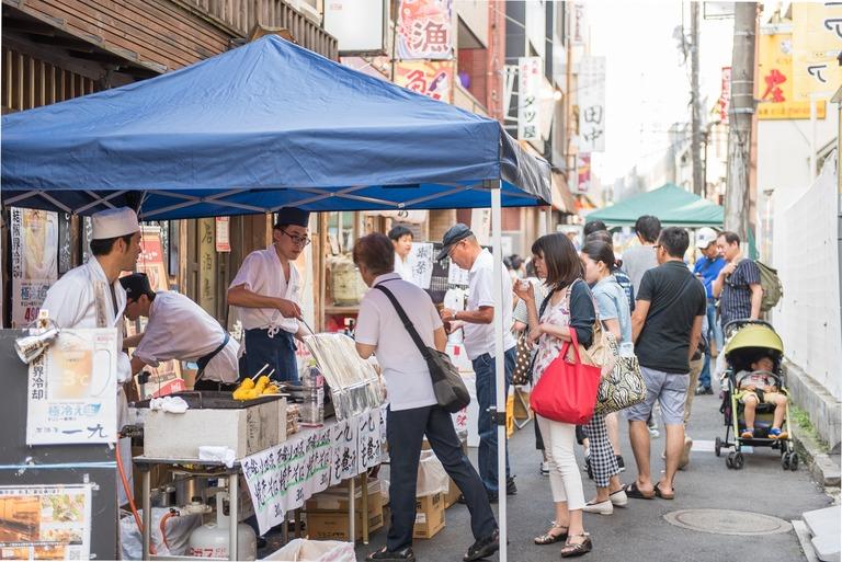 西船橋百円商店街2016年7月-7